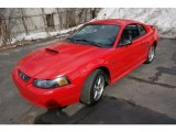 2002 Torch Red Ford Mustang GT Coupe #45560940