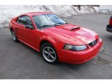 2002 Ford Mustang GT Coupe Front 3/4 View