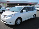 2011 Blizzard White Pearl Toyota Sienna Limited #45560975
