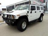 2003 White Hummer H2 SUV #45770545