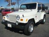 2002 Jeep Wrangler Stone White
