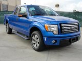 2011 Blue Flame Metallic Ford F150 XLT SuperCab #45648433