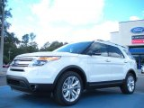 2011 White Suede Ford Explorer XLT #45725900