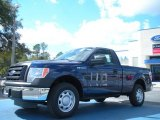 2011 Dark Blue Pearl Metallic Ford F150 XL Regular Cab #45725901