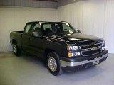 2007 Black Chevrolet Silverado 1500 Classic LS Extended Cab #45648845
