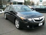 2010 Crystal Black Pearl Acura TSX V6 Sedan #45770088