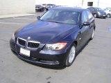 2007 Jet Black BMW 3 Series 328i Sedan #4566712