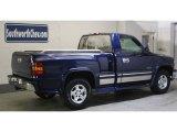 2000 Indigo Blue Metallic Chevrolet Silverado 1500 LS Regular Cab 4x4 #45770659