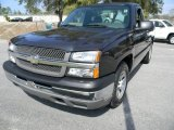 2005 Dark Blue Metallic Chevrolet Silverado 1500 Regular Cab #45725985