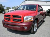 2006 Flame Red Dodge Ram 1500 Sport Quad Cab #45725988