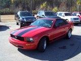 2007 Torch Red Ford Mustang V6 Premium Convertible #45770690