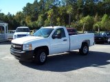 2008 Summit White Chevrolet Silverado 1500 LT Regular Cab #45770698