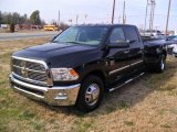 2010 Brilliant Black Crystal Pearl Dodge Ram 3500 Big Horn Edition Crew Cab Dually #45649057