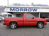 2004 Victory Red Chevrolet Silverado 1500 LS Regular Cab #45770206