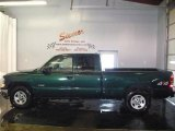 2002 Forest Green Metallic Chevrolet Silverado 1500 Extended Cab 4x4 #4567083