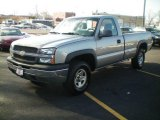 2003 Light Pewter Metallic Chevrolet Silverado 1500 Regular Cab 4x4 #4556948