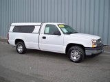2004 Summit White Chevrolet Silverado 1500 Regular Cab #4559851