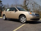 2005 Light Driftwood Metallic Chevrolet Malibu Sedan #4564203