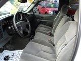 2006 Chevrolet Silverado 1500 LT Regular Cab 4x4 Dark Charcoal Interior