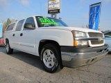 2005 Summit White Chevrolet Silverado 1500 LS Crew Cab #45690077