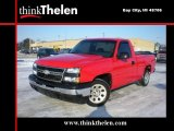 2006 Victory Red Chevrolet Silverado 1500 Work Truck Regular Cab #45649670