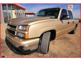 2007 Sandstone Metallic Chevrolet Silverado 1500 Classic LS Crew Cab #4565834
