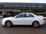 2010 White Platinum Tri-coat Metallic Ford Fusion SEL #45690148