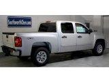 2011 Sheer Silver Metallic Chevrolet Silverado 1500 LT Crew Cab 4x4 #45690563
