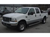 2004 Oxford White Ford F250 Super Duty Lariat Crew Cab 4x4 #45690683