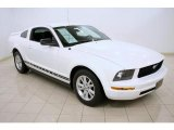 2006 Performance White Ford Mustang V6 Deluxe Coupe #45690644