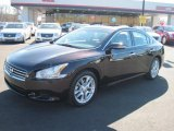 2010 Crimson Black Nissan Maxima 3.5 S #45726297