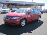 2008 Barcelona Red Metallic Toyota Camry Hybrid #45726294