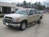 2005 Sandstone Metallic Chevrolet Silverado 1500 Z71 Crew Cab 4x4 #45726561