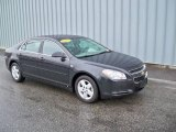 2008 Black Granite Metallic Chevrolet Malibu LS Sedan #4559848