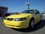2003 Zinc Yellow Ford Mustang V6 Coupe #45726662