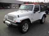 2011 Bright White Jeep Wrangler Sahara 4x4 #45726835