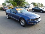 2007 Vista Blue Metallic Ford Mustang V6 Deluxe Coupe #45727207