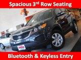 2011 Pacific Blue Kia Sorento LX V6 #45770265