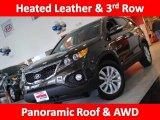 2011 Java Brown Kia Sorento EX V6 AWD #45770280