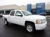 2011 Summit White Chevrolet Silverado 1500 LT Crew Cab 4x4 #45770347