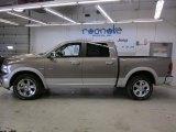 2010 Light Graystone Pearl Dodge Ram 1500 Laramie Crew Cab 4x4 #45770325