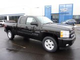 2011 Black Chevrolet Silverado 1500 LT Extended Cab 4x4 #45770355