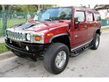 2003 Red Metallic Hummer H2 SUV #45770402