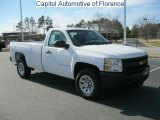 2008 Summit White Chevrolet Silverado 1500 Work Truck Regular Cab #45770868