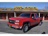 2006 Victory Red Chevrolet Silverado 1500 Z71 Extended Cab 4x4 #45770912