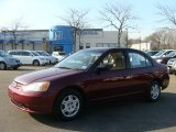 2002 Radiant Ruby Red Pearl Honda Civic LX Sedan #45771129