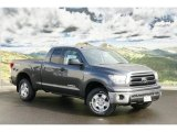 2011 Magnetic Gray Metallic Toyota Tundra TRD Double Cab 4x4 #45876041