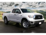 2011 Super White Toyota Tundra SR5 Double Cab 4x4 #45876042