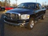2007 Brilliant Black Crystal Pearl Dodge Ram 1500 ST Quad Cab #45876049
