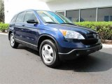 2008 Royal Blue Pearl Honda CR-V LX #45876057